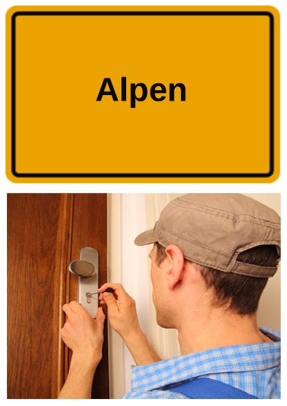 Schlüsseldienst Alpen - FABEOS
